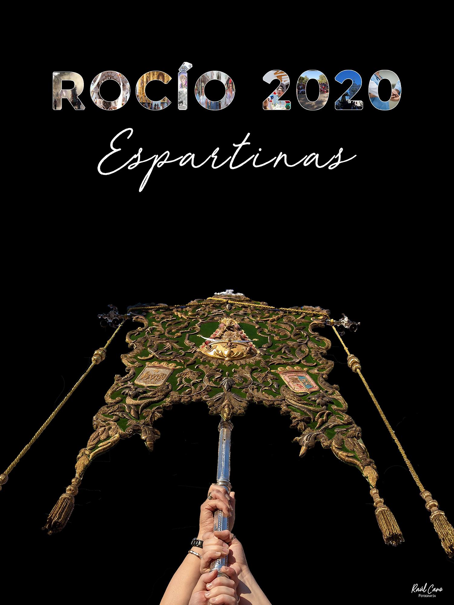 Cartel Romeria El Rocio Espartinas 2020